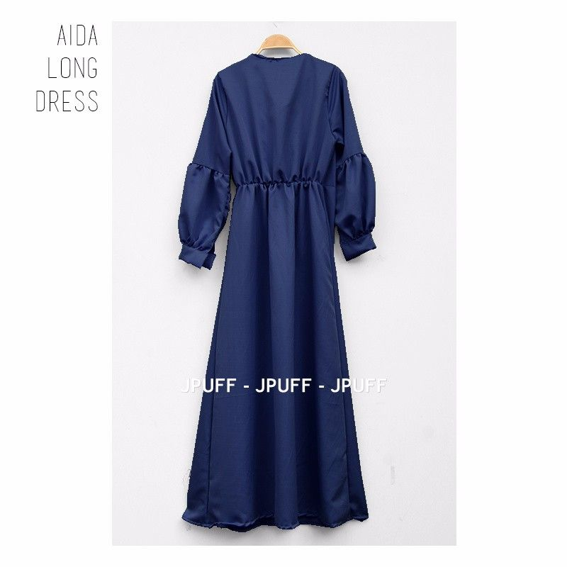 Aida Long Dress | Gamis Modern | Maxi Dress