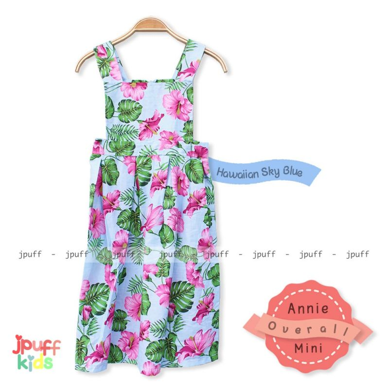 8098 Annie Overall Kids - Hawaian Limited Series