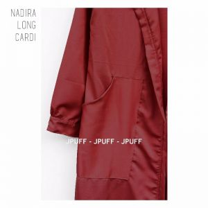 Nadira Long Cardi Coat | Gamis Modern | Maxi Dress