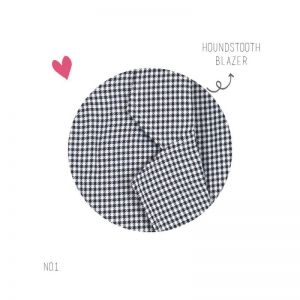 Houndstooth Blazer Outer