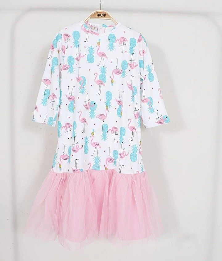 Flamingo Princess Dress (Dewasa)