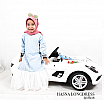 Hasna Long dress Kids - bisa couple dengan dewasa